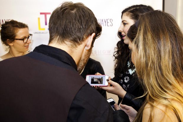 The party certainly brought Epiphany Space some buzz as people took photos in front of our Step and Repeat banner