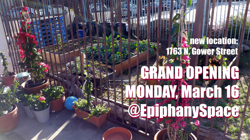 Epiphany Space hollywood Grand Opening