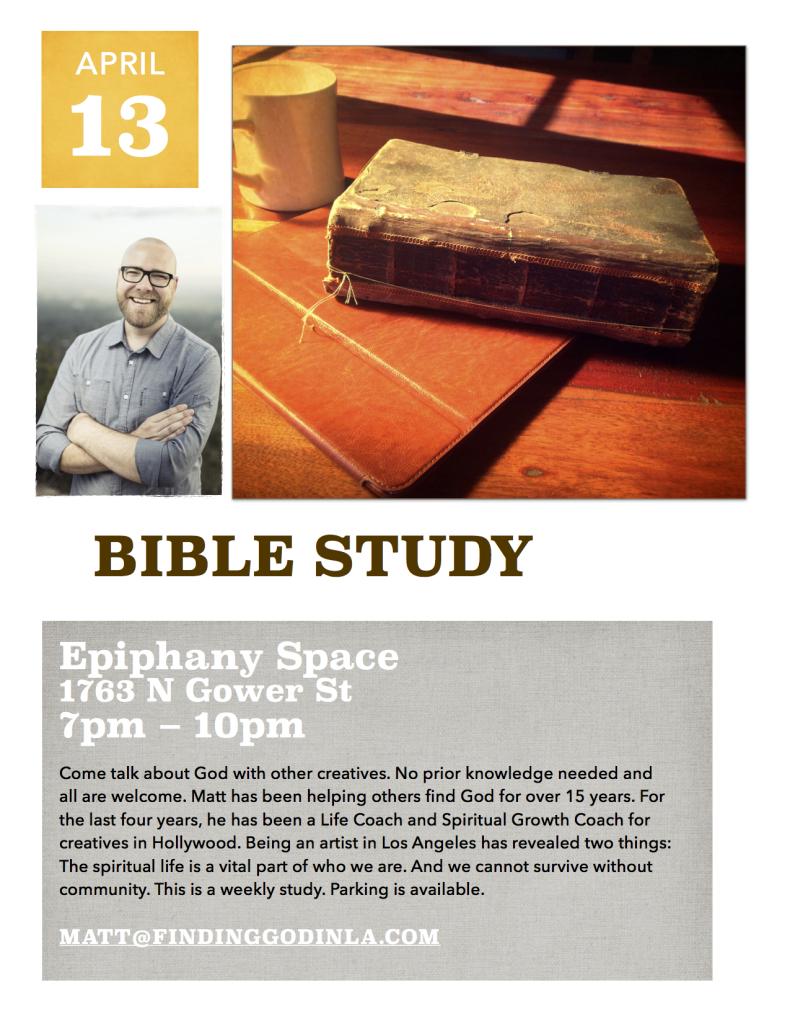 Matt bible study full page