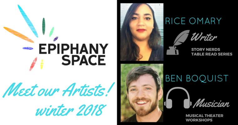 Meet Our Artists!